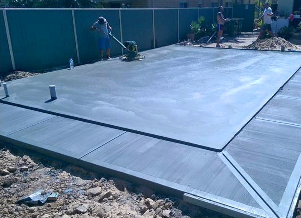 House Commercial Building Construction Slabs